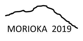 岩手山の稜線を模した大会シンボルマーク 盛岡2019